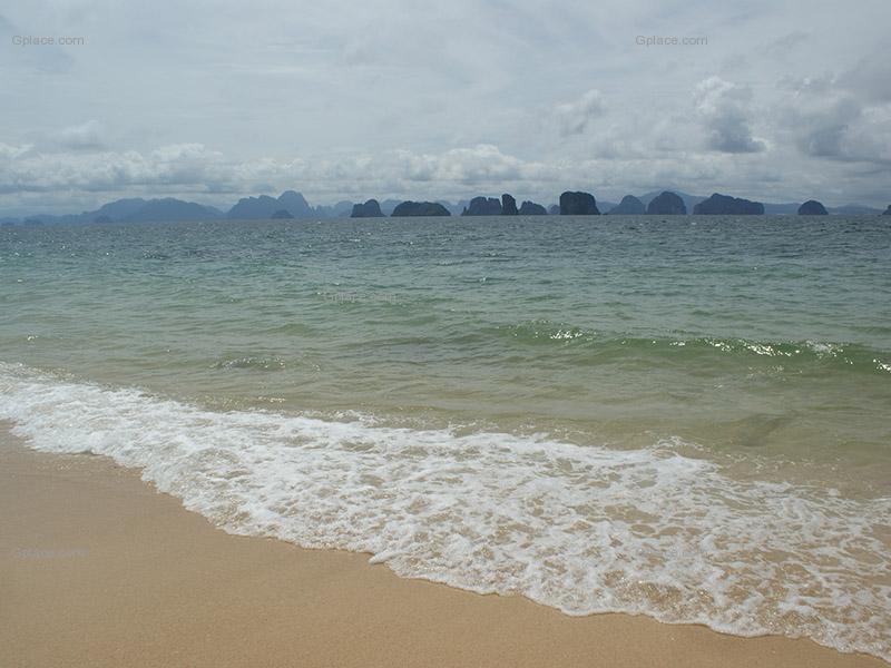 รูปภาพความสวยงามบนเกาะยาว